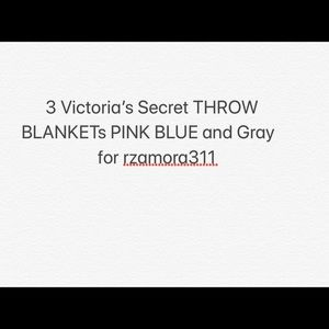 Victoria's Secret THROW BLANKET
